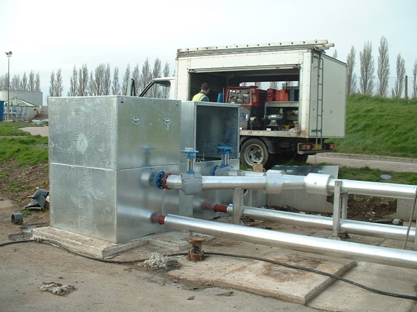 Water treatment pump security covers