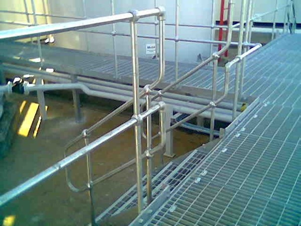 Industrial Handrail and Platforms