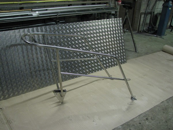 stainless steel pulpit