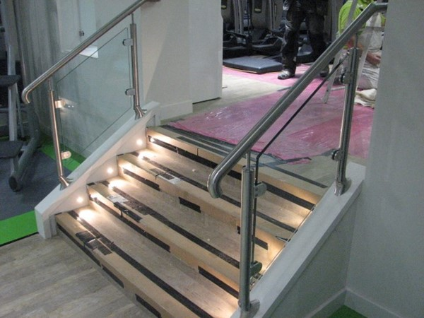 Leisure Club Stainless Steel & Glass Balustrade